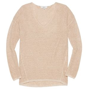 Aritzia Babaton Jarrod linen / silk sweater
